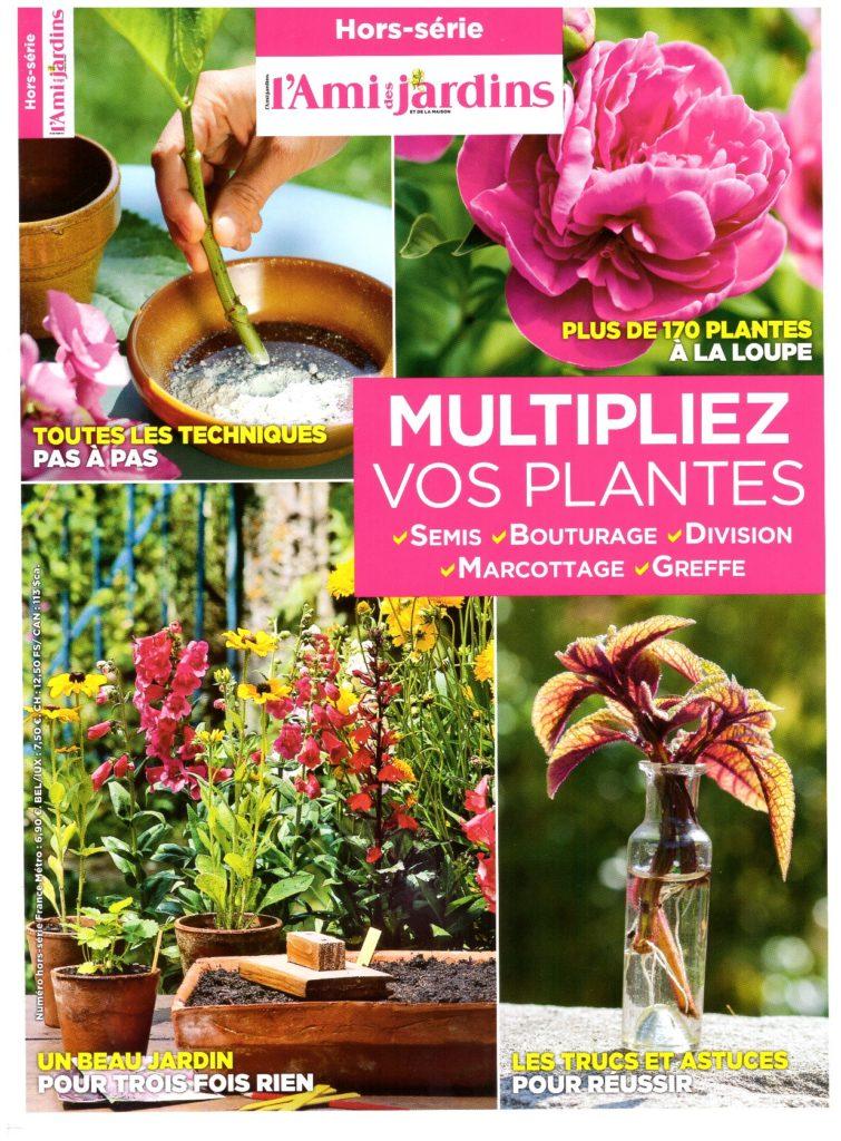 Couverture du hors-série de l'Ami des jardins et de la maison consacré à la multiplication des plantes..